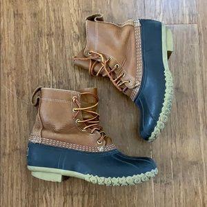 """LL Bean Duck Winter 8"""" Boots"""